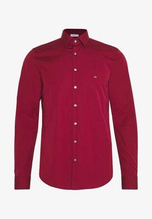 CONTRAST FLOWER PRINT SLIM - Zakelijk overhemd - red