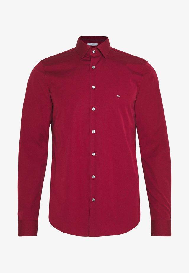 CONTRAST FLOWER PRINT SLIM - Formal shirt - red