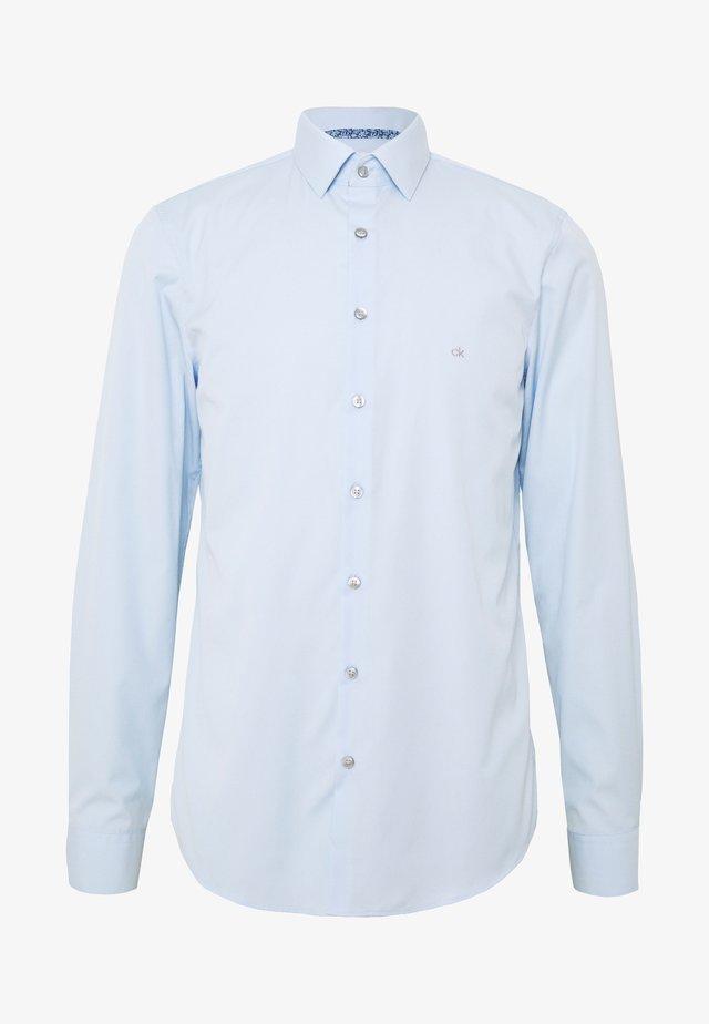 CONTRAST FLOWER PRINT SLIM - Businesshemd - blue