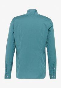 Calvin Klein Tailored - CONTRAST FLOWER PRINT SLIM - Camicia elegante - blue - 1