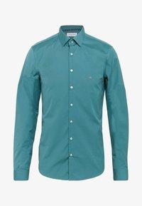 Calvin Klein Tailored - CONTRAST FLOWER PRINT SLIM - Camicia elegante - blue - 0