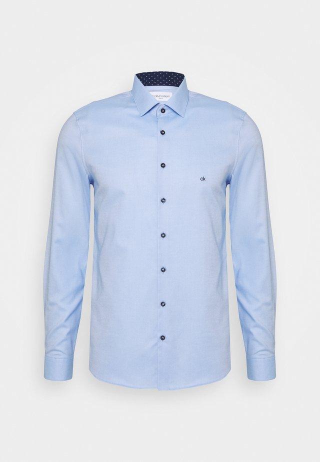 CONTRAST PRINT SLIM SHIRT - Kauluspaita - blue