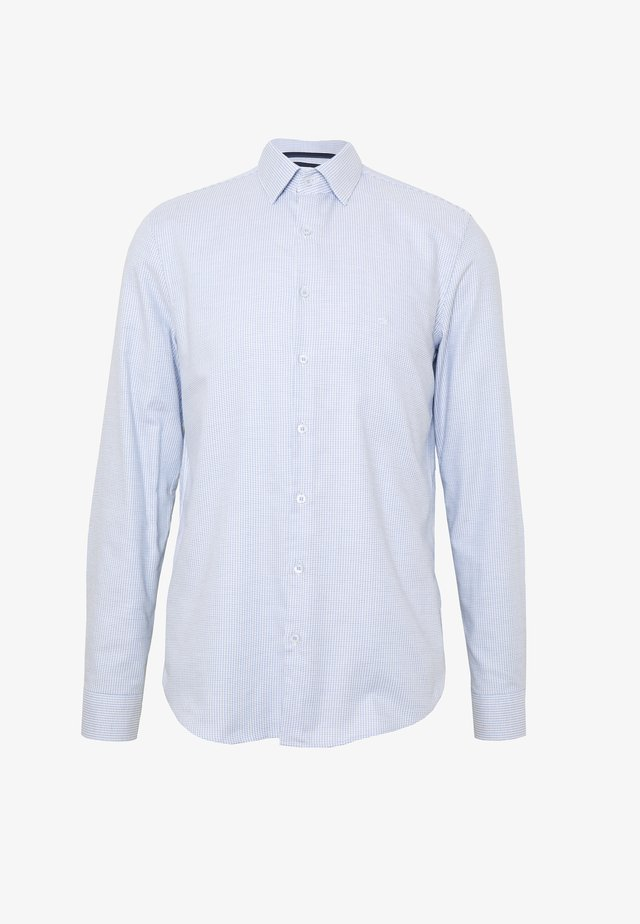 STRUCTURE EASY CARE SLIM SHIRT - Koszula biznesowa - blue
