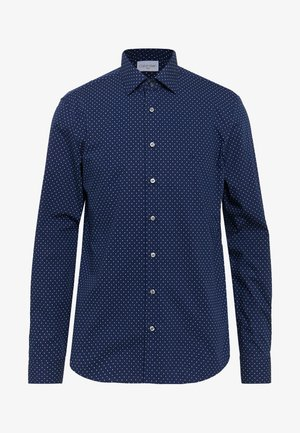 EASY CARE FITTED SHIRT - Camicia - blue