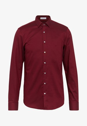 STRUCTURE EASY CARE SLIM SHIRT - Camicia - red