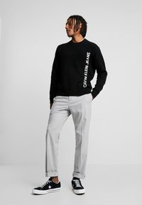 Calvin Klein Tailored - STRETCH COMFORT PANT - Bukse - grey - 1
