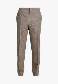 Calvin Klein Tailored - HOUNDSTOOTH EXTRAFINE - Suit trousers - grey - 4