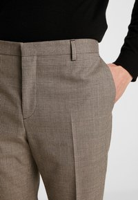 Calvin Klein Tailored - HOUNDSTOOTH EXTRAFINE - Suit trousers - grey - 3