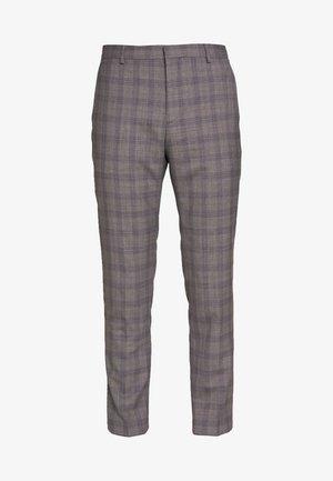 CHECK EXTRA FINE PANTS - Broek - grey