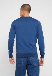 Calvin Klein Tailored - Stickad tröja - blue - 2