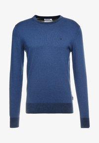 Calvin Klein Tailored - Stickad tröja - blue - 4