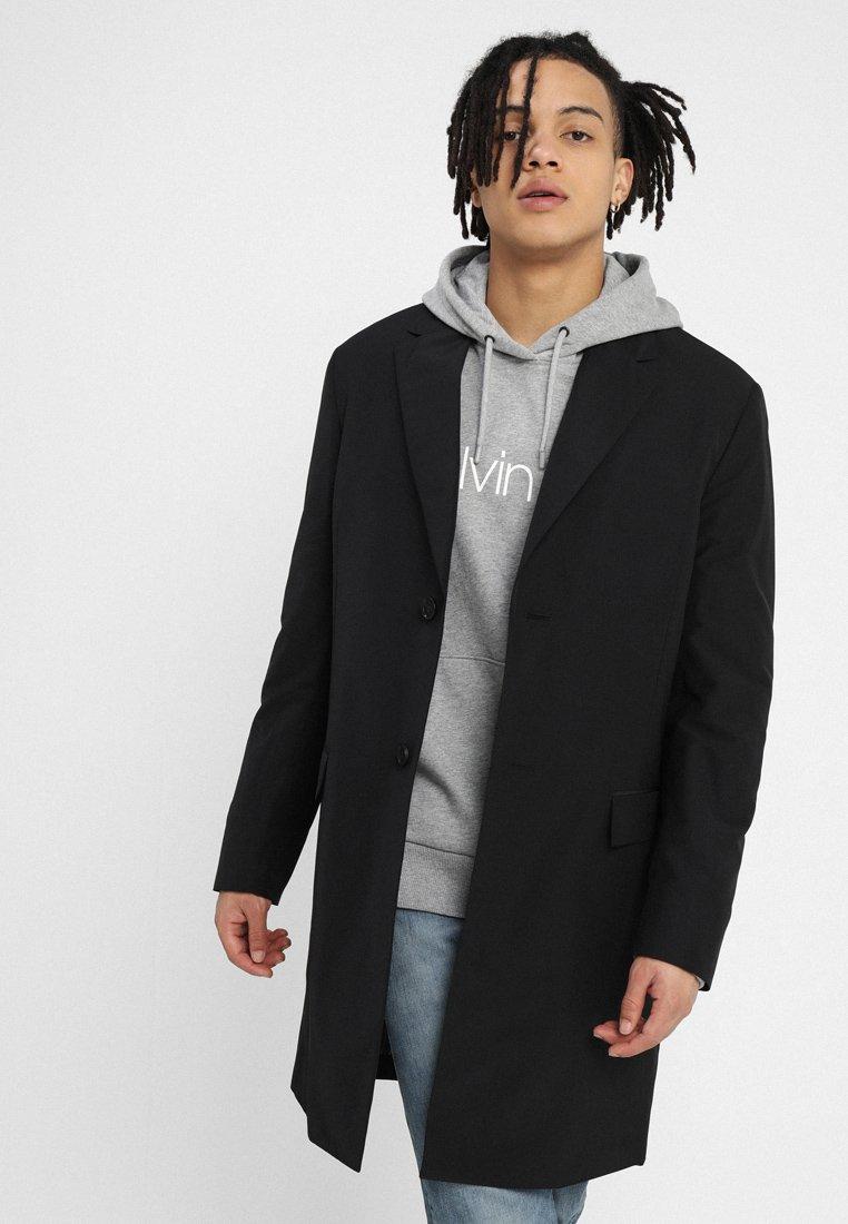 Calvin Klein Tailored - CLASSIC NOTCH LAPEL - Trenchcoat - black