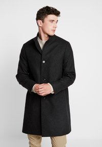 Calvin Klein Tailored - BLEND FUNNEL COAT - Wollmantel/klassischer Mantel - grey - 0