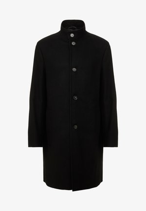 BLEND FUNNEL COAT - Classic coat - black