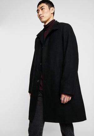 BLEND FUNNEL COAT - Classic coat - black