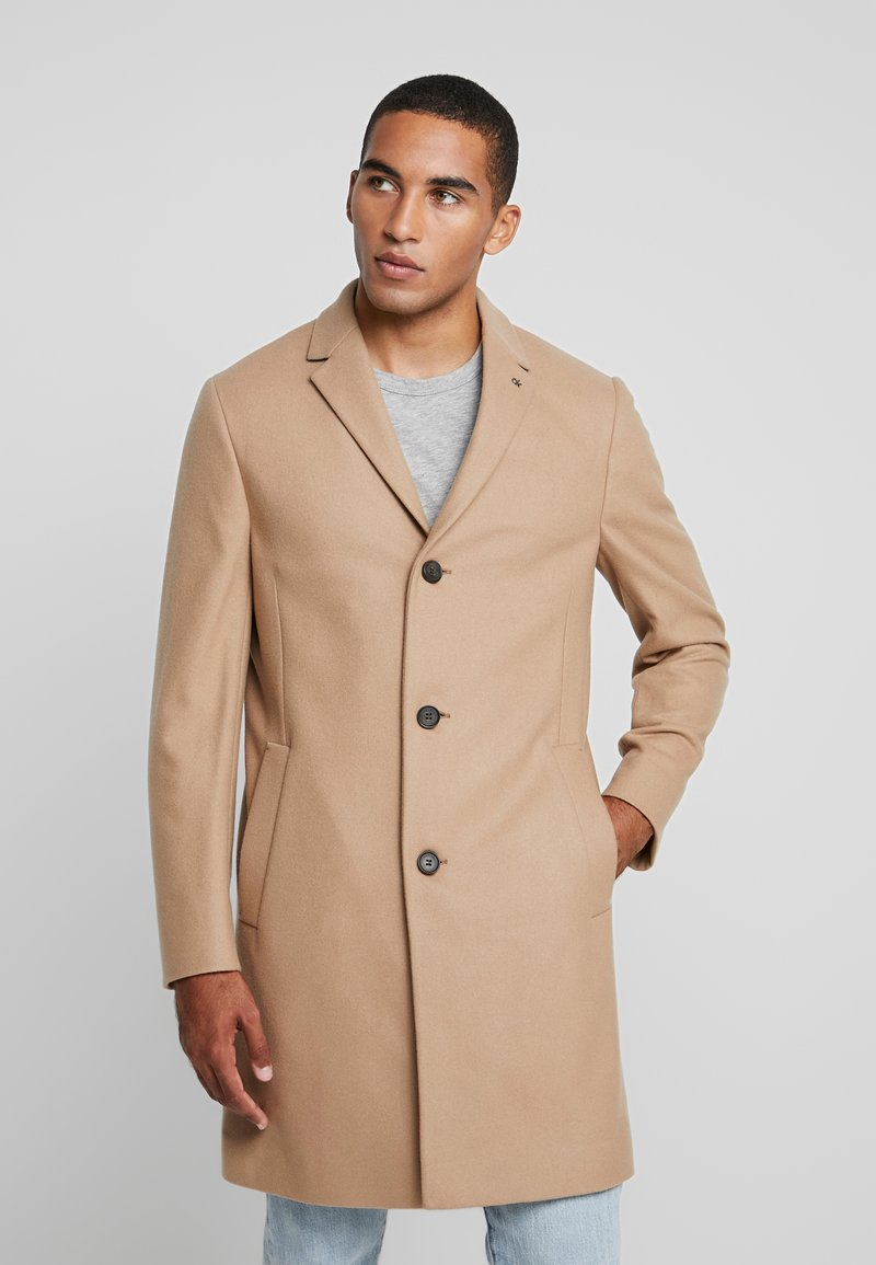 Calvin Klein Tailored - BLEND COAT - Kappa / rock - beige