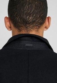 Calvin Klein Tailored - BLEND COAT - Kappa / rock - black - 5