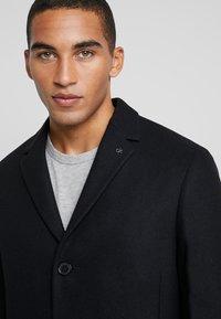 Calvin Klein Tailored - BLEND COAT - Kappa / rock - black - 3