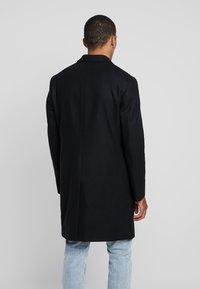 Calvin Klein Tailored - BLEND COAT - Kappa / rock - black - 2
