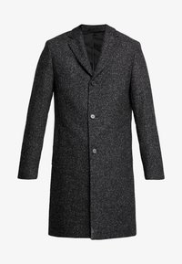 Calvin Klein Tailored - BLEND SPECKLE CROMBY COAT - Zimní kabát - grey