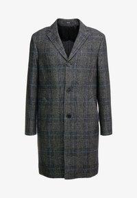 Calvin Klein Tailored - GLENCHECK COAT - Mantel - black - 4