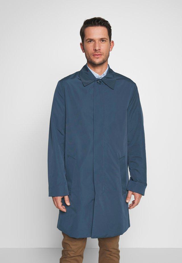 COMPACT NYLON COAT - Wollmantel/klassischer Mantel - blue
