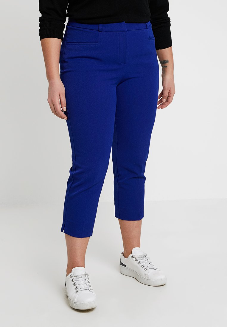 CAPSULE by Simply Be - EVERYDAY MEGHAN CIGARETTE TROUSER - Stoffhose - cobalt