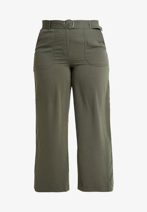 UTILITY WIDE LEG TROUSER - Kalhoty - olive