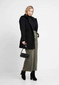 CAPSULE by Simply Be - UTILITY WIDE LEG TROUSER - Pantalones - olive - 1