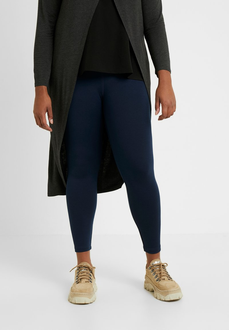CAPSULE by Simply Be - PERFECT SHAPER - Leggingsit - navy
