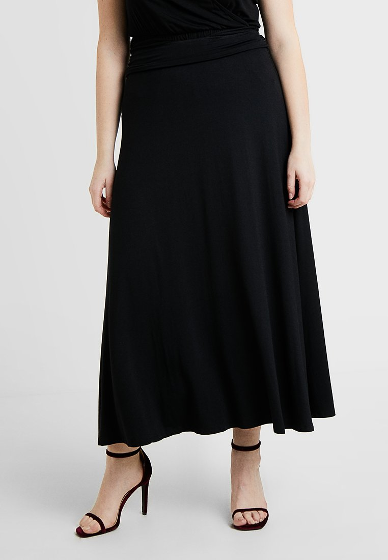CAPSULE by Simply Be - SKIRT - Gonna lunga - black
