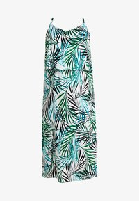 CAPSULE by Simply Be - LAYERED DRESS - Maxi šaty - ivory/green - 3