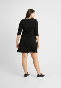 CAPSULE by Simply Be - SWING DRESS - Sukienka z dżerseju - black - 2