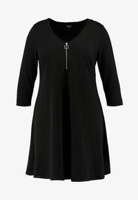 CAPSULE by Simply Be - SWING DRESS - Sukienka z dżerseju - black - 3