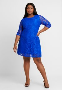 CAPSULE by Simply Be - SWING DRESS - Žerzejové šaty - cobalt - 2