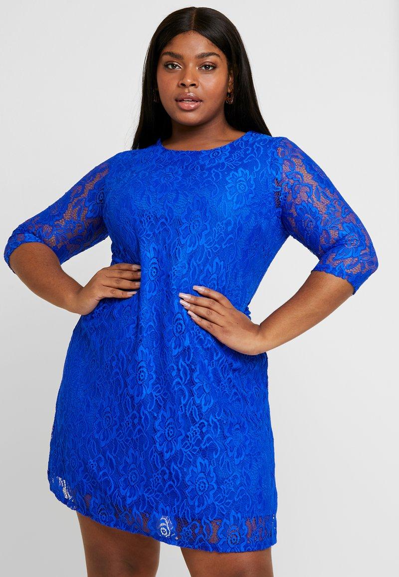 CAPSULE by Simply Be - SWING DRESS - Žerzejové šaty - cobalt