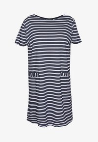 CAPSULE by Simply Be - POCKET DETAIL  DRESS - Robe en jersey - navy/white - 3