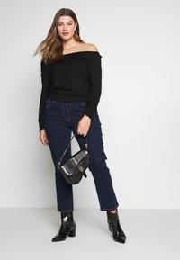 CAPSULE by Simply Be - BARDOT  - Long sleeved top - black - 1