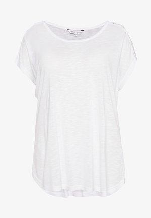 CRISS CROSS STRAP  - T-shirts print - white
