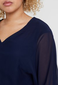 CAPSULE by Simply Be - V NECK BLOUSE - Blouse - blue - 4