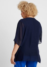 CAPSULE by Simply Be - V NECK BLOUSE - Blouse - blue - 2