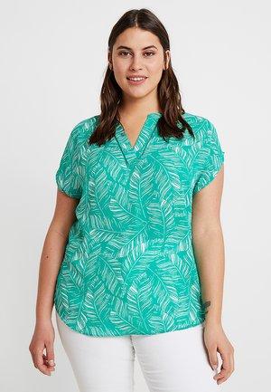 LADDER INSERT - T-shirts print - green palm