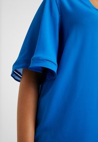 CAPSULE by Simply Be - LADDER INSERT TUNIC - Bluser - cobalt blue - 5