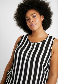 CAPSULE by Simply Be - ZIP FRONT VEST - Pusero - multi-coloured - 3