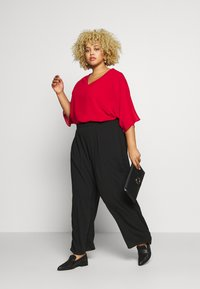 CAPSULE by Simply Be - LINED BLOUSE - Blouse - dark red - 1