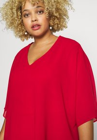 CAPSULE by Simply Be - LINED BLOUSE - Bluser - dark red - 5