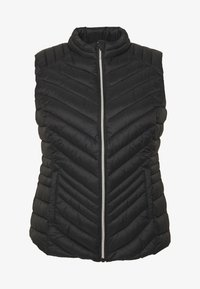 CAPSULE by Simply Be - LIGHTWEIGHT PADDED GILET - Smanicato - black - 4