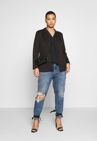 CAPSULE by Simply Be - PONTE - Blazer - black - 1