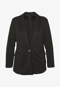 CAPSULE by Simply Be - PONTE - Blazer - black - 3
