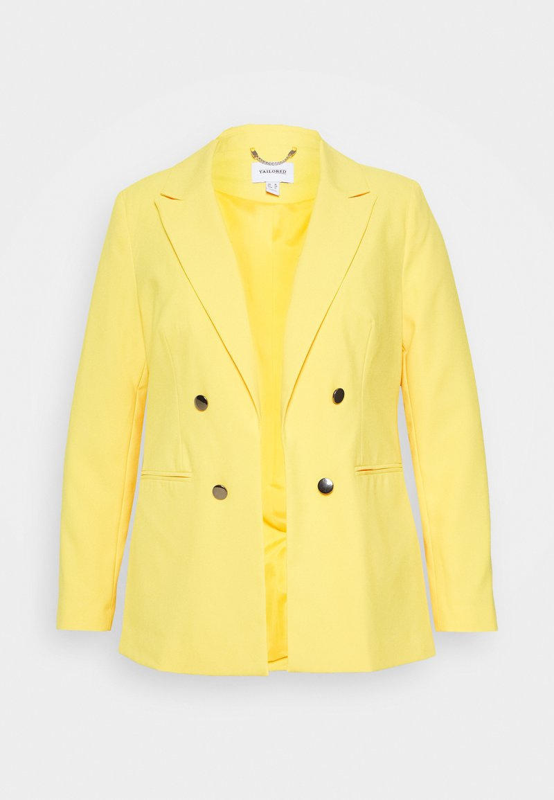 CAPSULE by Simply Be - FASHION - Blazer - yellow